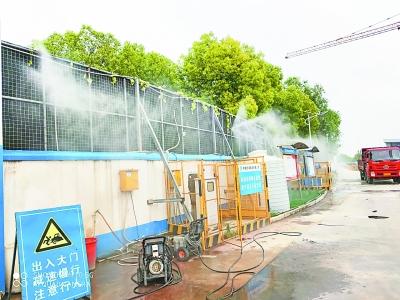如何规范地治理建设中产生的扬尘,让空气更加清新?