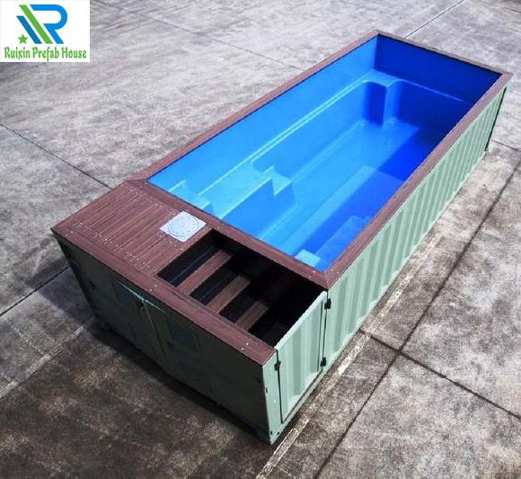 高端纯定制集装箱游泳池