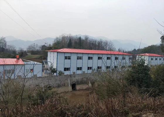 绵阳安县活动板房材料工程案例