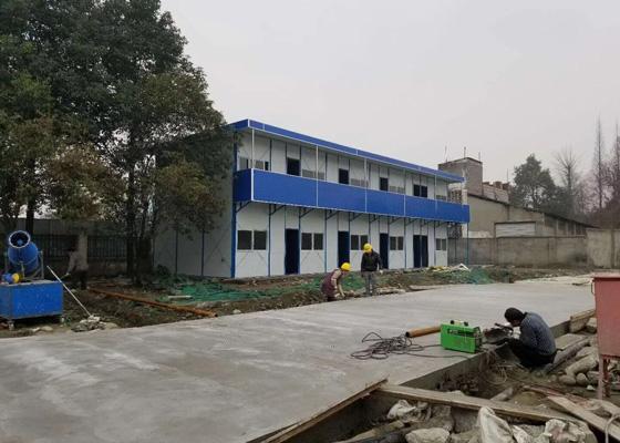 温江永盛集中箱住房项目