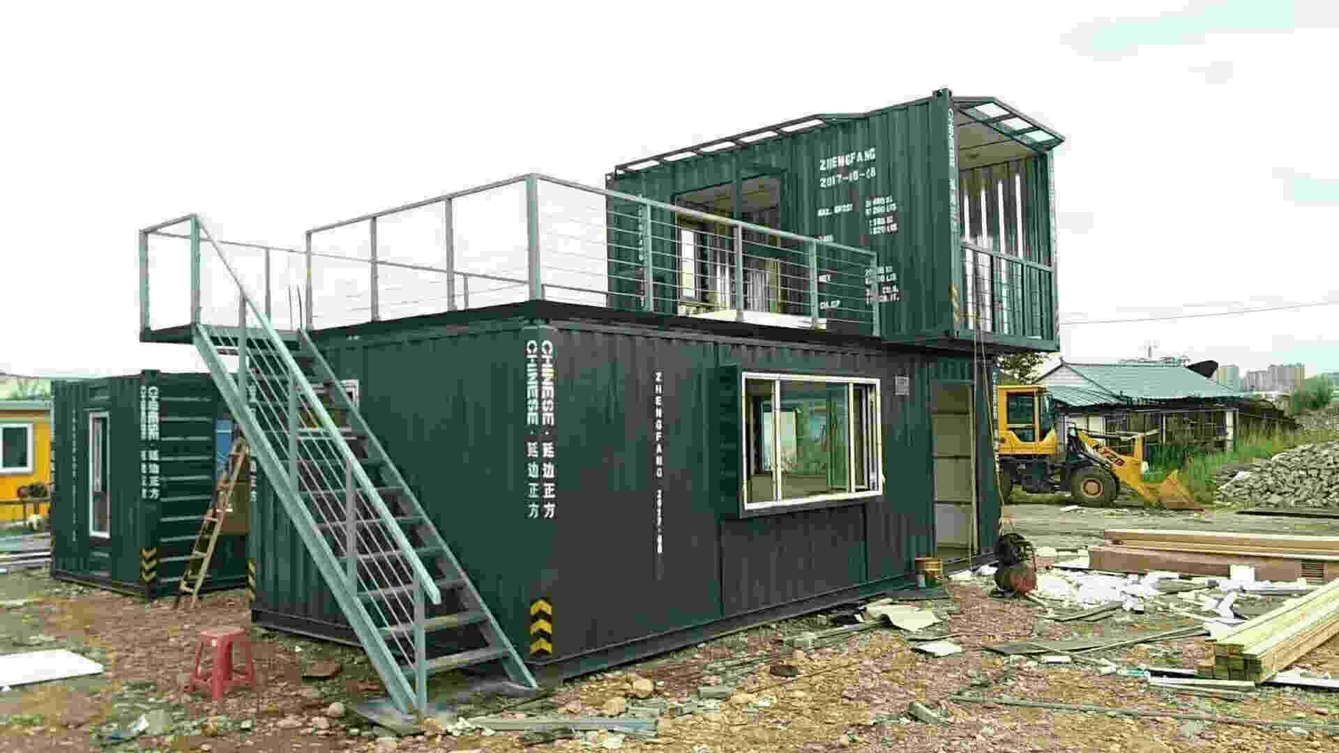高端集装箱组合房