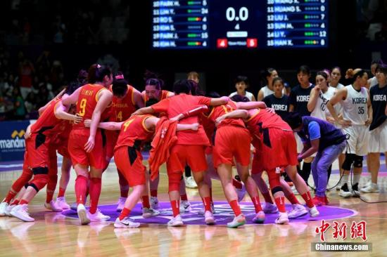 女篮亚洲杯小组赛 中国队大胜菲律宾取得两连胜