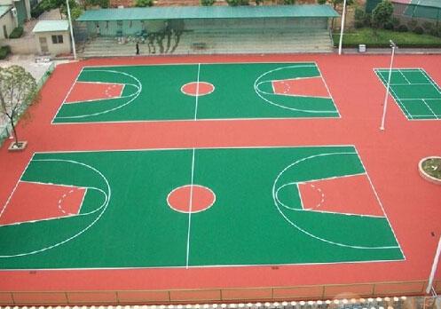 亚博足球app下载塑胶场地工程案例展示