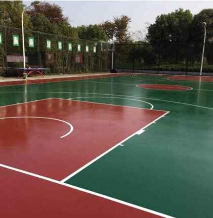 亚博足球app下载塑胶篮球场