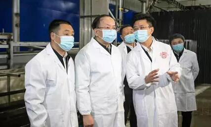 貴州省委常委、貴陽市委書記趙德明到貴州養心食品開展調研