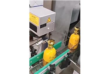光纤激光喷码机使用视频展示