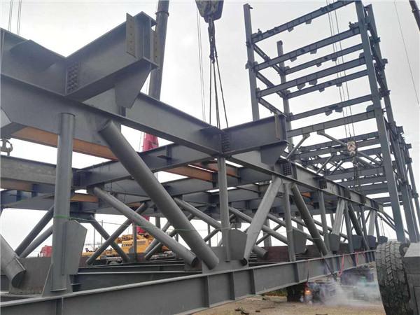 呼和浩特钢构的技术性能特点,听华腾彩钢钢结构公司给您分析