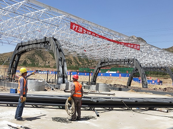 内蒙古华腾钢结构-110国道金川收费站