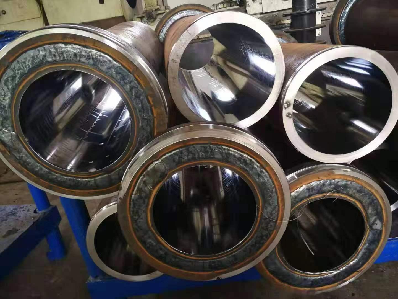 河南压滤机油缸施工案例