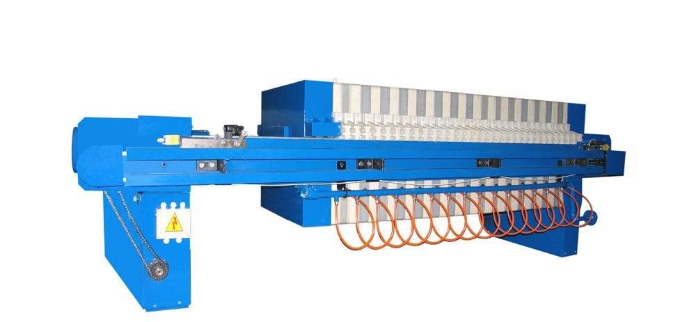 河南压滤机生产厂家施工案例