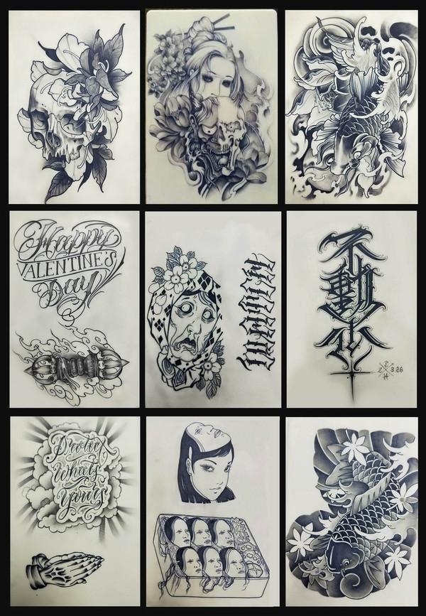 西安学纹身