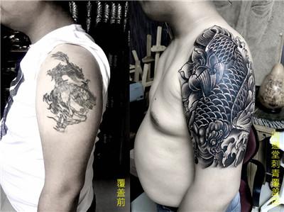 纹身手臂覆盖设计