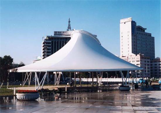 商业设施膜结构