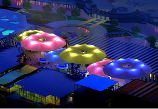 西安商业设施膜结构