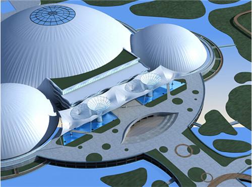 西安污水池膜结构
