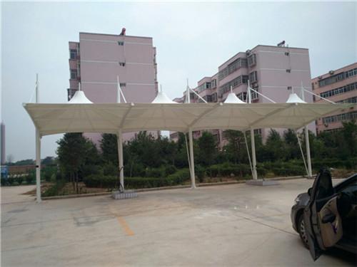 西安公交站膜结构