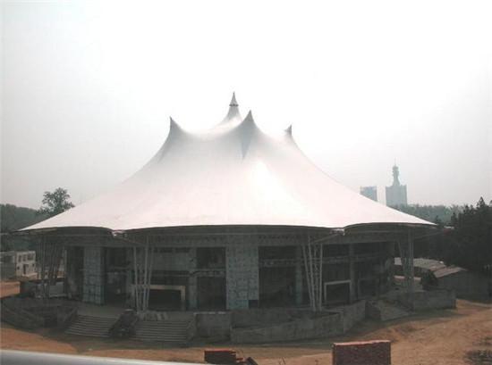 盛巨福商业设施膜结构