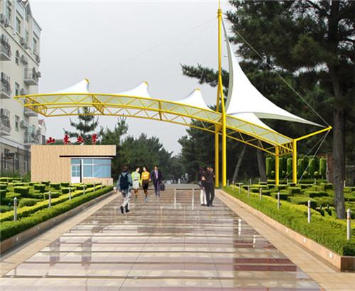 西安大门膜结构