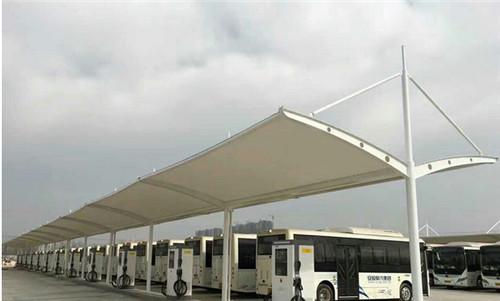 盛巨福公交站膜结构