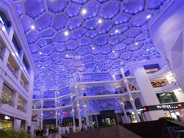 ETFE膜结构安装