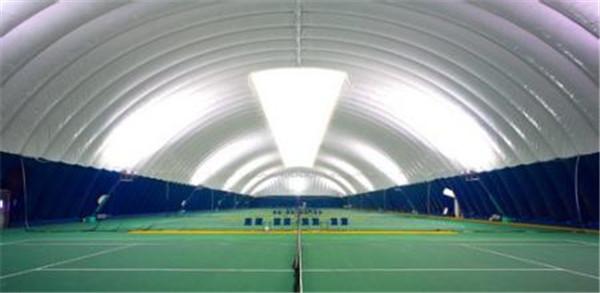 学校运动场气模膜结构