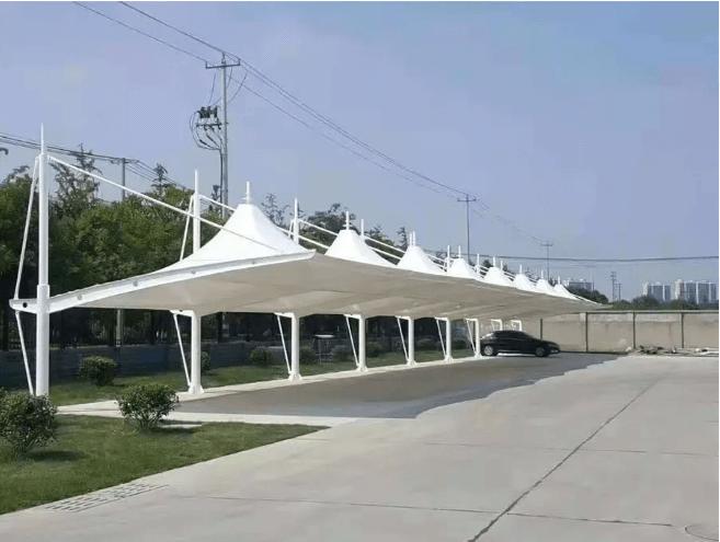 西安膜结构车棚设计