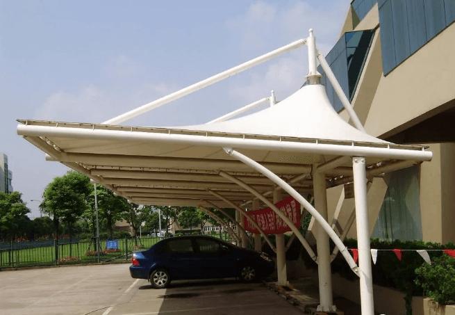 西安膜结构车棚工程设计