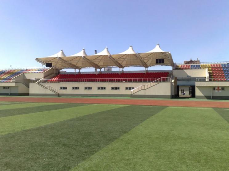 西安体育场看台膜结构