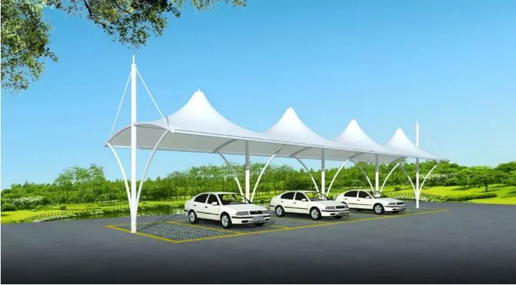 生活中,我们应该如何选择合适的膜结构车棚?