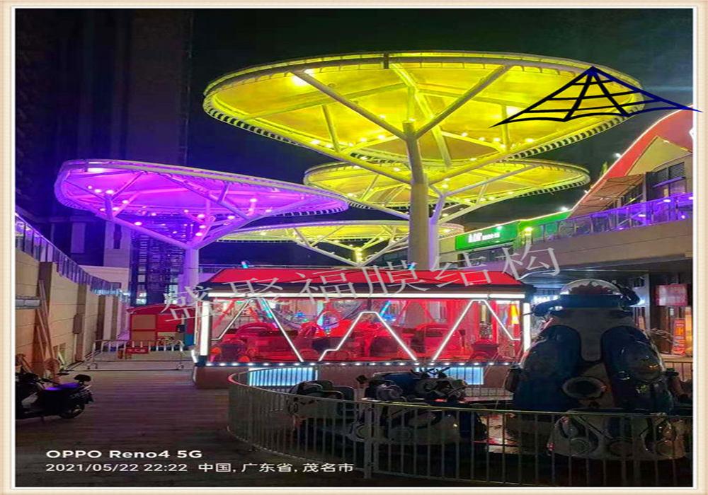 西安ETFE景观膜结构安装工程