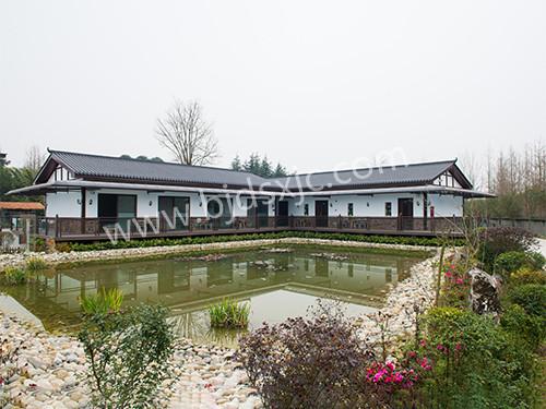 北京仿古瓦安装工程案例