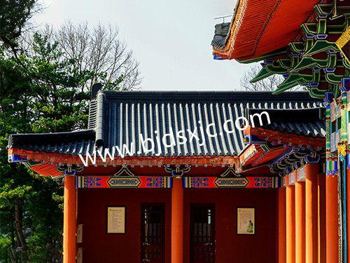 北京青筒瓦厂家工程案例