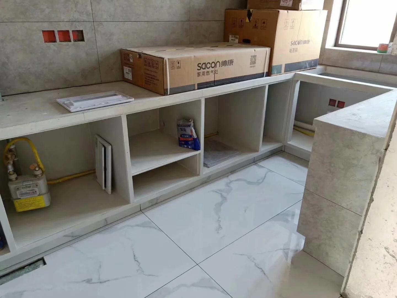 西安局部装修——砖夹橱柜工程