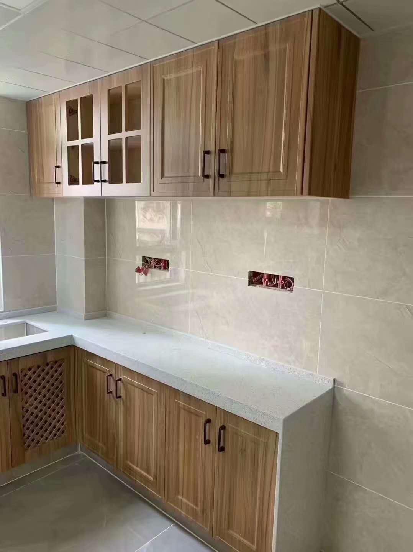 砖夹橱柜设计——西安局部装修