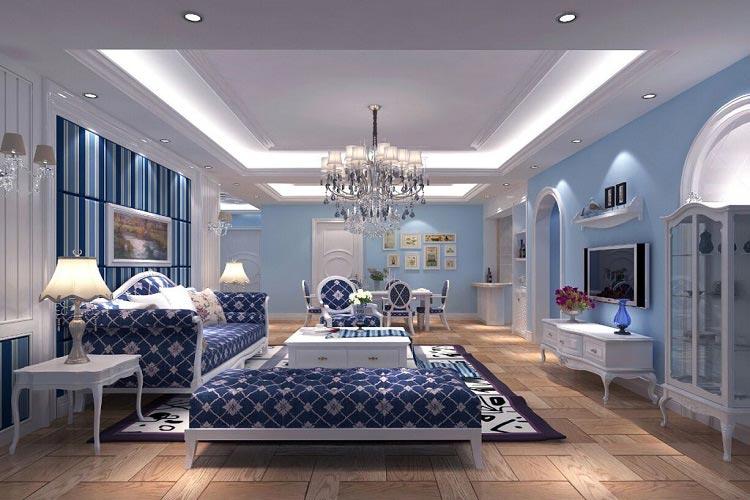 西安老房翻新——客厅装修是铺木地板好还是铺瓷砖好?