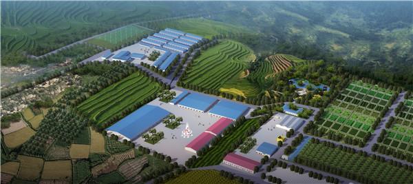 陕西省多维现代农业园—核心区