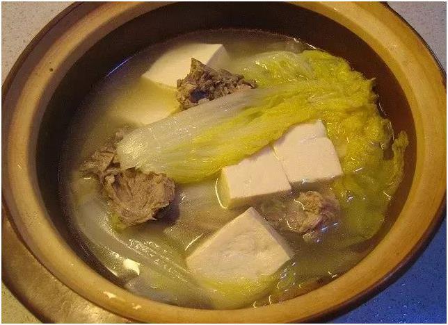 白菜豆腐鸭肉汤的做法是怎样的?