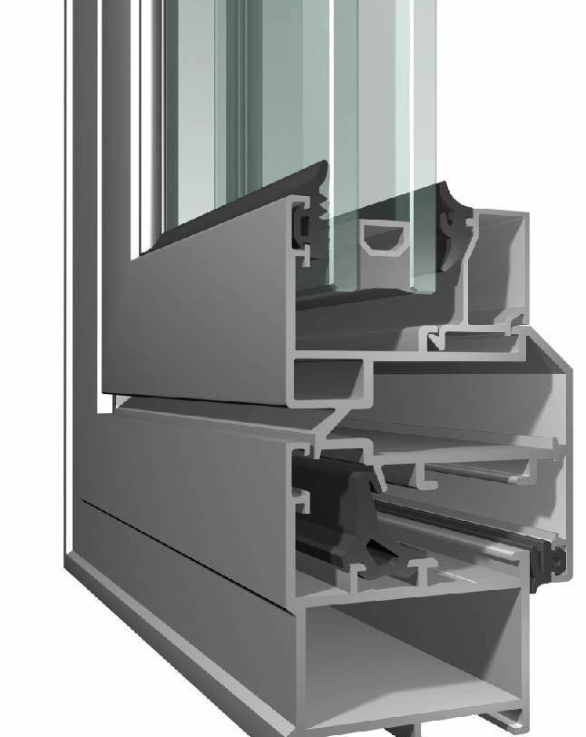 大家知道各种系列的成都断桥铝门窗的区别吗