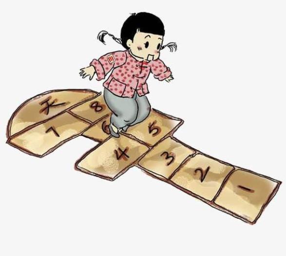 拓展教育-重温经典游戏《跳房子》