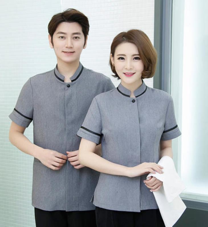 服装定做中工作服款式设计所注意哪些因素