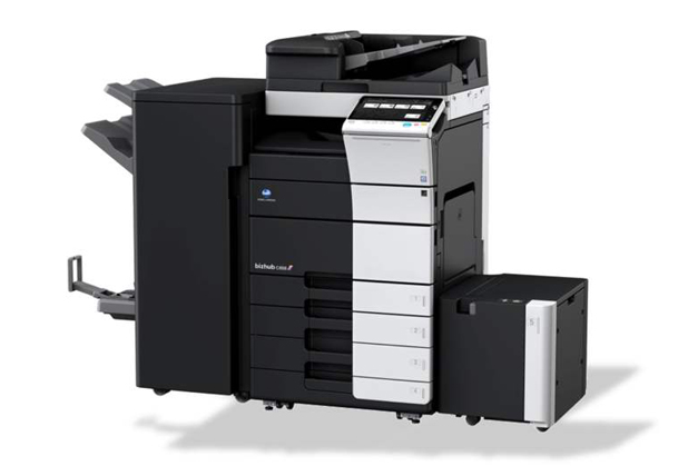 成都彩色复印机出租-柯美C558