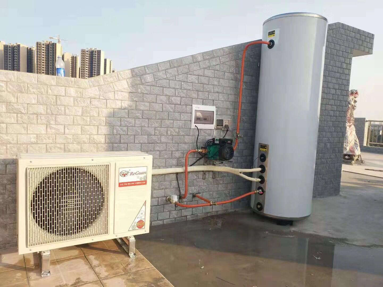 乐锅锅炉-家用空气能热水器案例