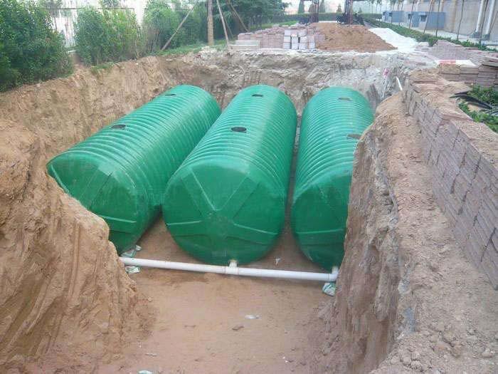 农村自建房没有下水道排污怎么办?这样建个成都化粪池