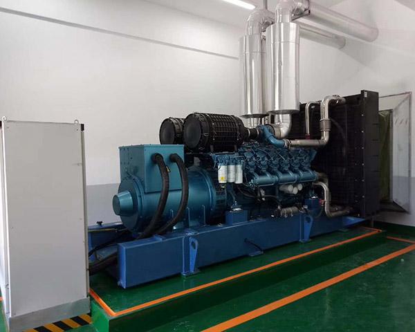 成都柴油发电机组施工现场