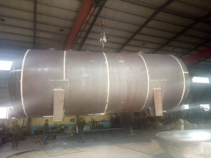 玻璃钢设备的水处理设备产生负压的原因