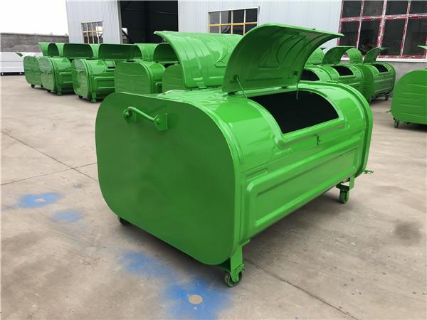 不锈钢垃圾箱-电泳垃圾箱