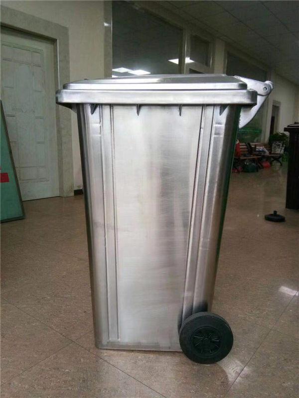 240L不锈钢垃圾桶