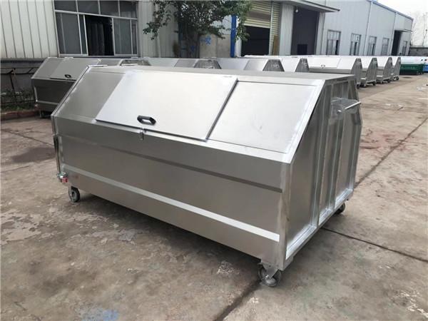 3.5立方不锈钢垃圾箱