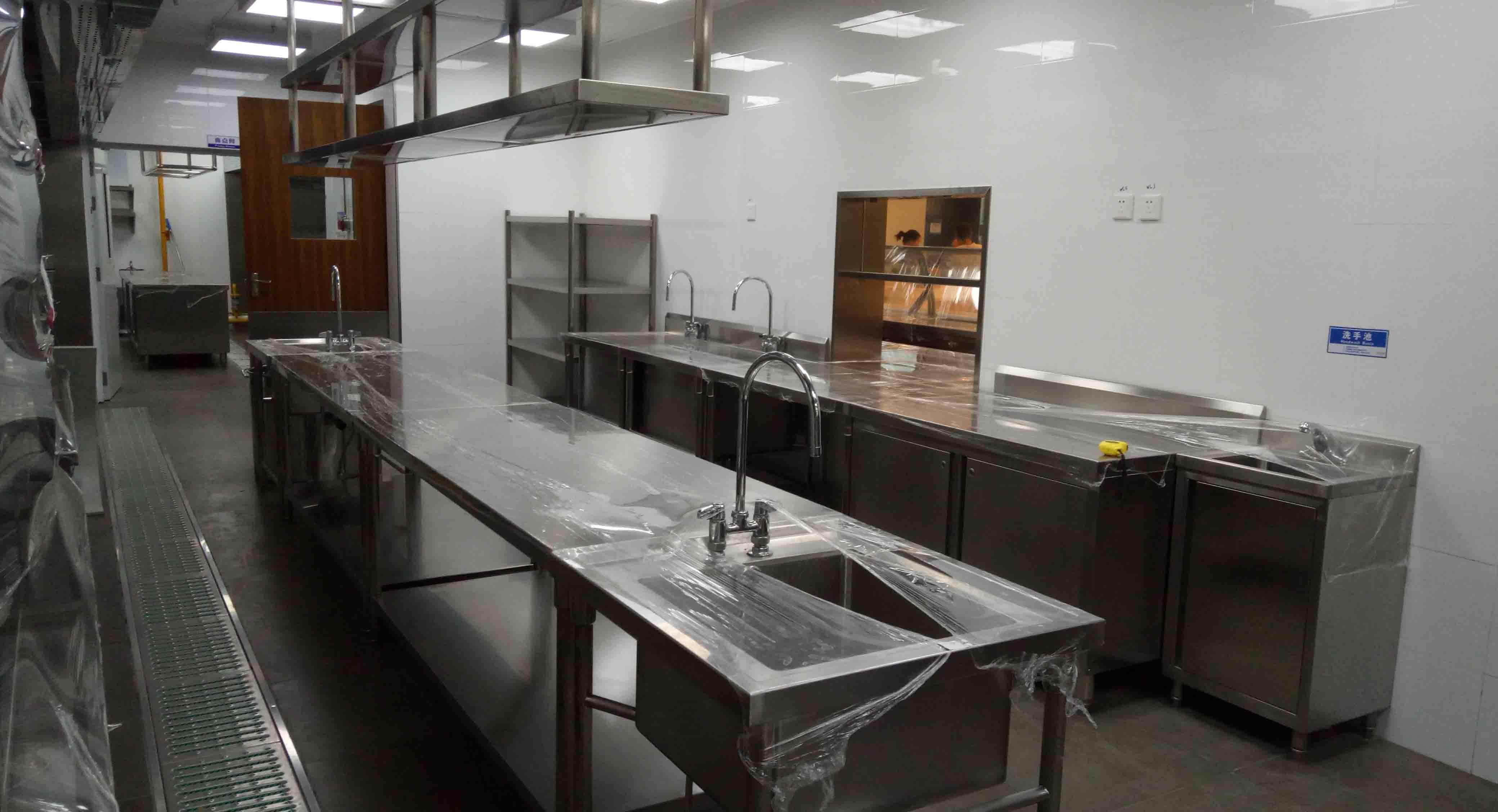 蒸煮廚房設備案例