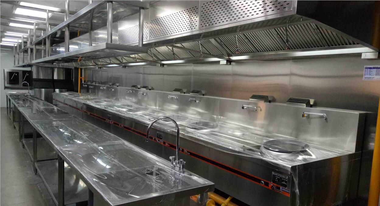中央熱廚房設備案例